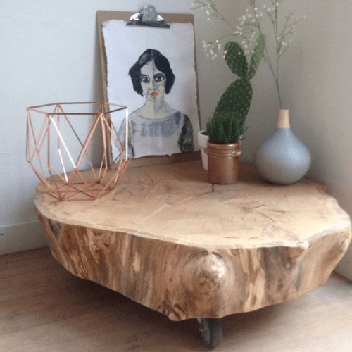 Artikel gemaakt van hout