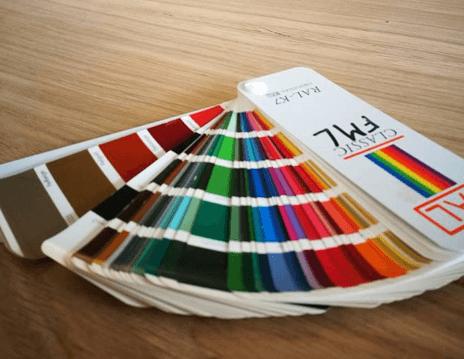 Onderstellen kleuren